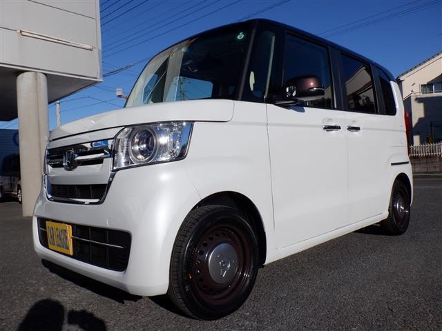 N-BOX G・Lホンダセンシング コーディネートスタイル 届出済未使用車