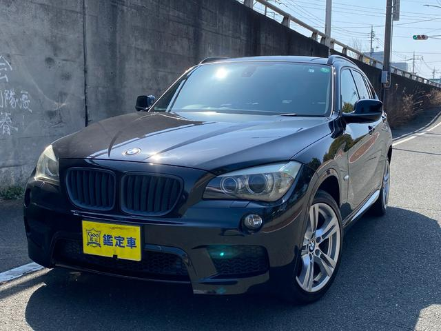BMW X1 sDrive 18i Mスポーツパッケージ Goo鑑定車 Mスポーツ HDDナビ・TV・DVD・バックカメラ 純正ミラー型ETC ヒーター付き黒革シート プッシュスタートスイッチ 全国6ヶ月保証付き