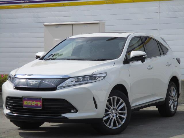 トヨタ プレミアム 登録済み未使用車 サンルーフ LEDライト