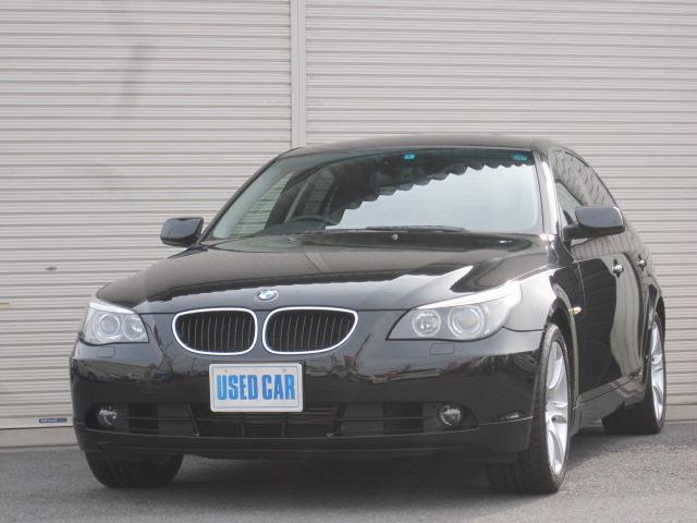 BMW 525i 黒皮純ナビ純AWPシートキセノン