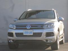 VW トゥアレグハイブリッド テクノロジーP ACC全方位カメラ