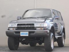 ランドクルーザー80VXリミテッド ディーゼルターボ4WDサンルーフリフトアップ
