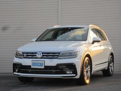 VW ティグアンTSI Rライン 純正ナビTV全周囲カメラLEDヘッドライト