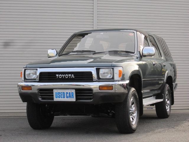 トヨタ SSRリミテッド4WD サンルーフ5速MT