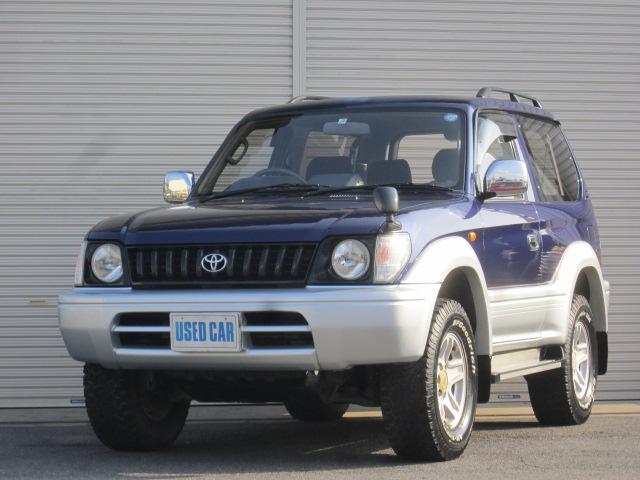 トヨタ ランドクルーザープラド RX 3ドア3.0ディーゼルターボ 4WD