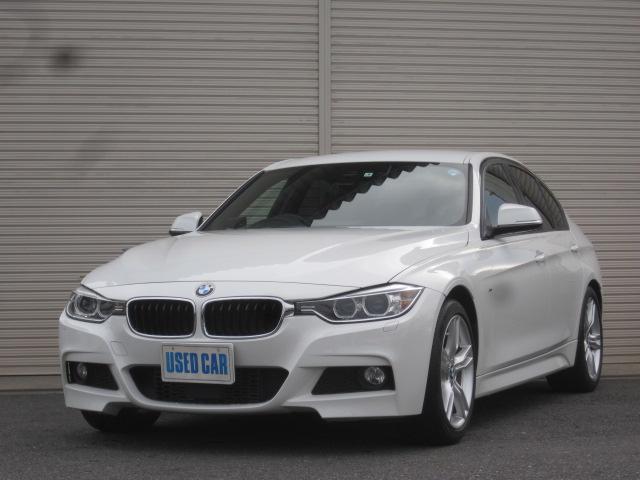 BMW 320d Mスポーツ 赤革ナビバックカメラ衝突軽減ACC