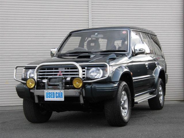 三菱 ワイド XR-II ディーゼルターボ5速マニュアル4WDサンルーフウインチ