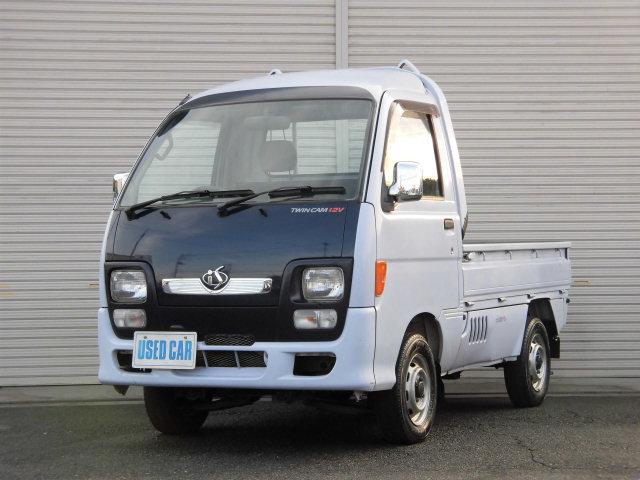 ダイハツ ハイゼットトラック is 4WDハイルーフ3方開パワステ