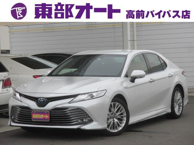 トヨタ カムリ Gレザーパッケージ Mナビ TV Bカメラ プリクラ ETC
