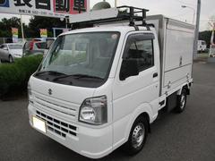 キャリイトラック移動販売車・サーモキング冷凍機・ー5℃〜
