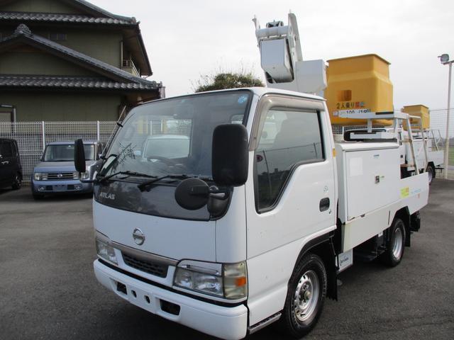 日産 高所作業車3.1ディーゼル・7mアーム・5MT