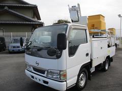アトラストラック高所作業車3.1ディーゼル・2段ブーム・5MT