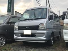 サンバーバントランスポーター ETC キーレス Wエアバック 車検整備付