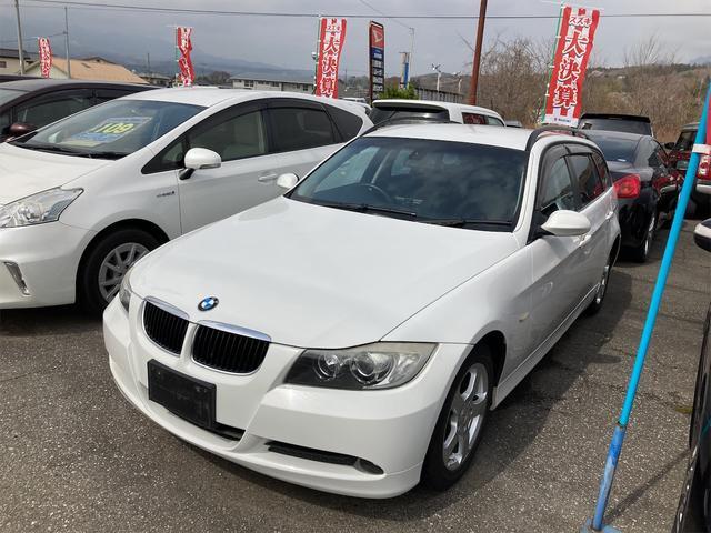 BMW 320iツーリング 社外ナビTV ETC パワーシート スマートキー