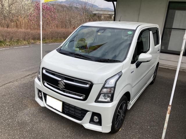 スズキ ハイブリッドT 4WD ターボ ナビTV Bluetooth DVD再生 シートヒーター