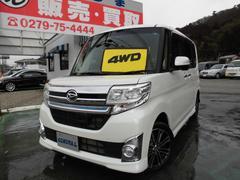 タントカスタムRS SA 4WD ターボ ワンオーナー ナビTV