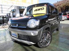ハスラーGターボ 4WD 1オーナー スマホ連携ナビTVバックカメラ