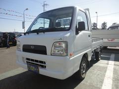 サンバートラックTB 4WD 5速マニュアル車 パワステ 記録簿 保証付