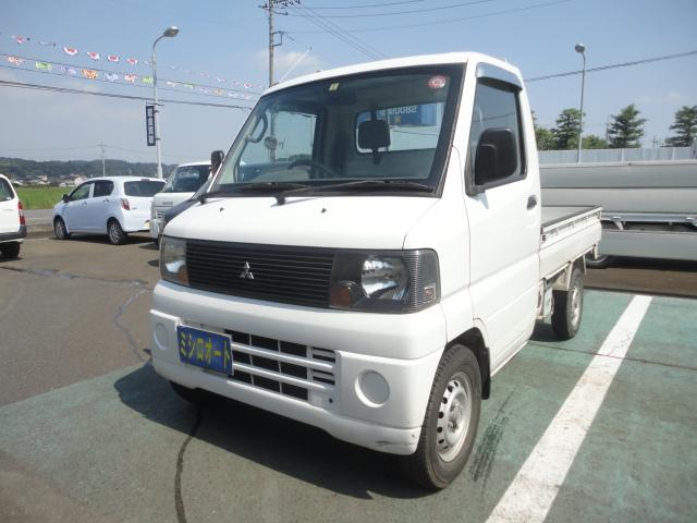 三菱 ミニキャブトラック Vタイプ 4WD エアコン 記録簿 5速マニュアル 保証付