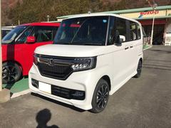 N BOXカスタムG・Lホンダセンシング 4WD Rカメラ付 クルコン CVT