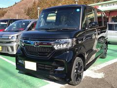 N BOXカスタムG・Lターボホンダセンシング 4WD 登録済未使用車 ETC