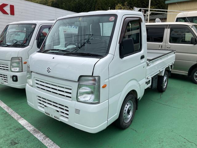 スズキ キャリイトラック FC 4WD AC MT ホワイト