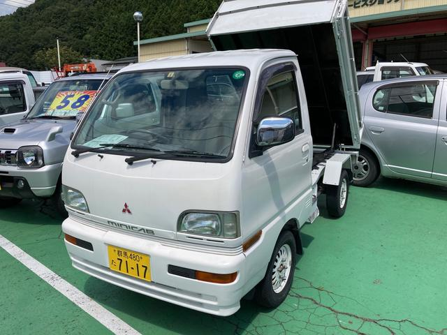 三菱 ダンプ 4WD アルミホイール エアコン