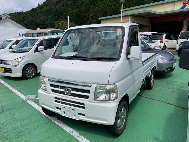 ホンダ アクティトラック ベースグレード 4WD アルミホイール エアコン パワーステアリング