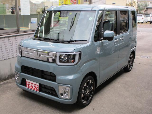 ダイハツ GターボリミテッドSAIII 4WD パノラマM ナビ新品 届出済未使用車