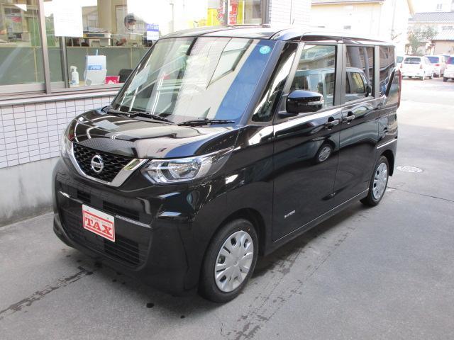日産 X 両電Sドア 快適パックA AビューM ナビ新品 届出済未使用車