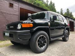 FJクルーザーブラックカラーパッケージ ワンオーナー車 ナビTV 4WD