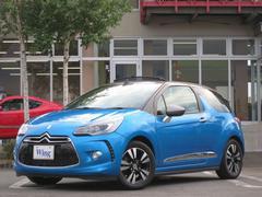 シトロエン DS3カブリオシック 1オナ 新車保証 禁煙 LEDモノグラムソフトトップ
