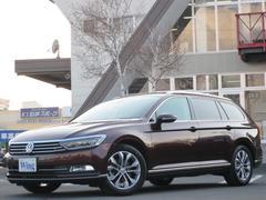 VW パサートヴァリアントTSIハイライン 新車保証 禁煙ACC ディスカバープロ黒革