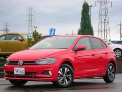 VW ポロTSIコンフォートライン 登録済未使用車 ディスカバープロ