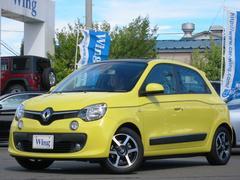 ルノー トゥインゴインテンス キャンバストップ 新車保証 クルコン ETC