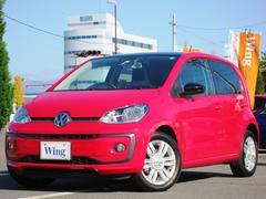 VW アップ!ルーフ アップ!限定車130台 新車保証 禁煙 LEDライト