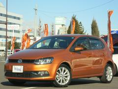 VW ポロオリジナル限定500台 新車保証 1オーナ禁煙 純正ナビTV