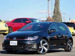 VW ゴルフGTI6速マニュアル 新車保証 禁煙 DCC ACC 純正ナビTV