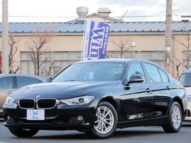 BMW 320i 純正ナビ  コンフォートアクセス HID オートライト ターボ アイドリングストップ 純正16AW 電動格納ミラー ミラーETC ミュージックサーバー 8速AT フォグライト