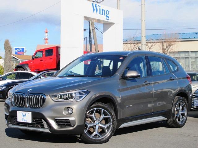 BMW X1 sDrive 18i xライン 新車保証 禁煙車 HUD コンフォートアクセス パークディスタンスコントロール 純正HDDナビ Bカメラ 前後クリアランスソナー 電動トランク 純正18AW BTオーディオ ハーフレザー シートヒータ
