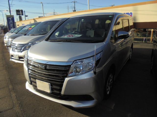 トヨタ ノア X SDナビ フルセグTV バックモニター 左パワースライドドア ETC プッシュスタート スマートキー