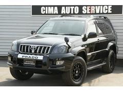 ランドクルーザープラドTXリミテッド 4WD ワンオーナ サンルーフ 新品18AW