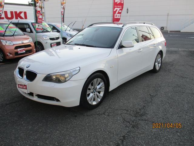 BMW 5シリーズ 530iツーリングハイラインパッケージ ナビ/レザ-