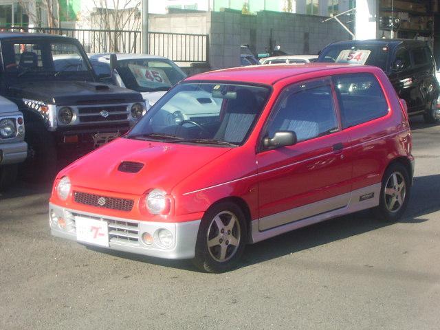 スズキ ターボie/s 5速マニュアル 社外車高調 マフラー