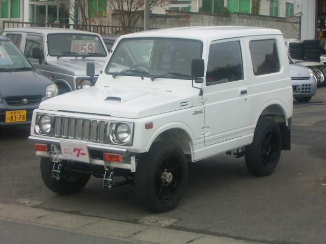 スズキ HA 4WD 5速マニュアル エアコン レザー調シートカバー