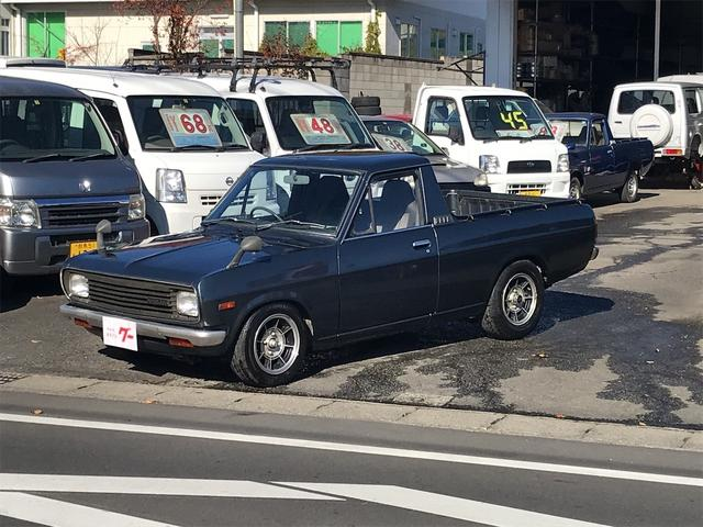 日産 DX 4速マニュアル レストアベース車 B122 平成4年車