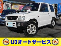 パジェロミニV 4WD マニュアル ターボ 純正アルミ
