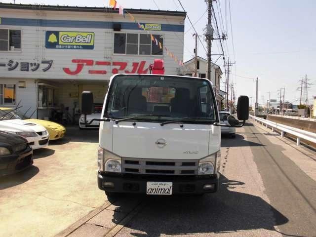 日産 アトラストラック 3Tロング2.6T4段クレーン 新品エンジンクラッチO/H