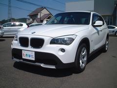 BMW X1sDrive 18i ワンオーナー コンフォートアクセス