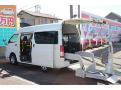 レジアスエースバンウェルキャブCタイプ リアリフト車イス1基10人乗 福祉車両